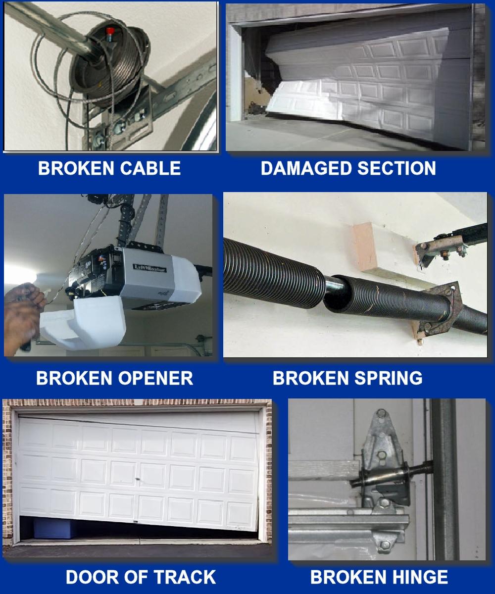 Garage Door Repair San Diego Broken Spring Garage Doors San Diego