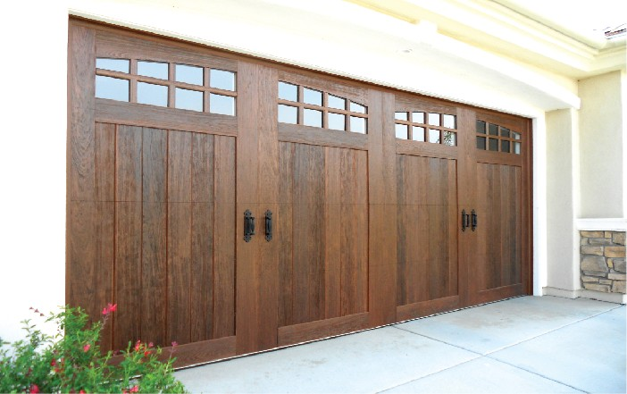 Faux Wood Canyon Ridge Garage Doors