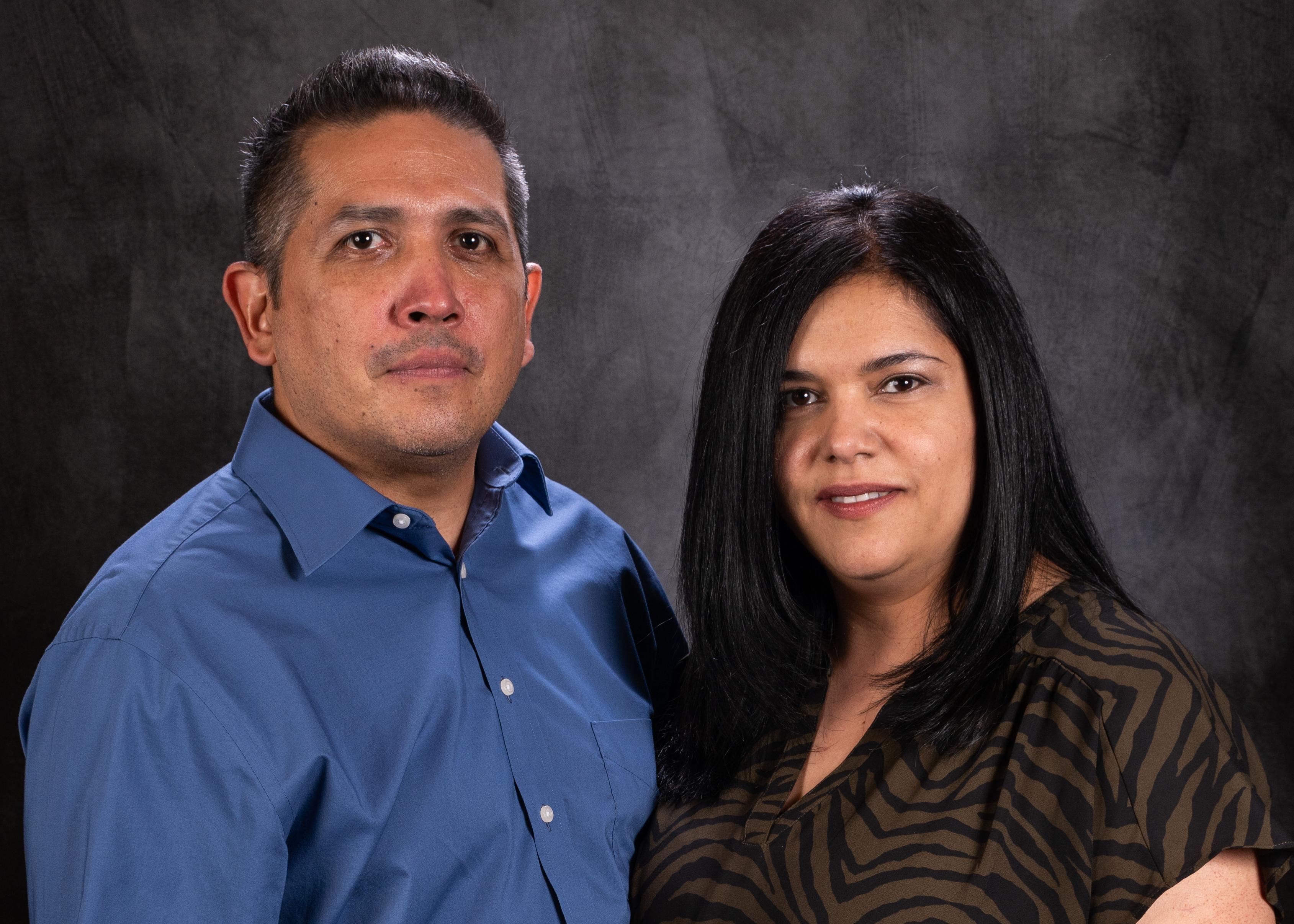 Juan and Belen Briones