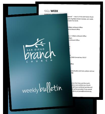 Weekly Bulletin
